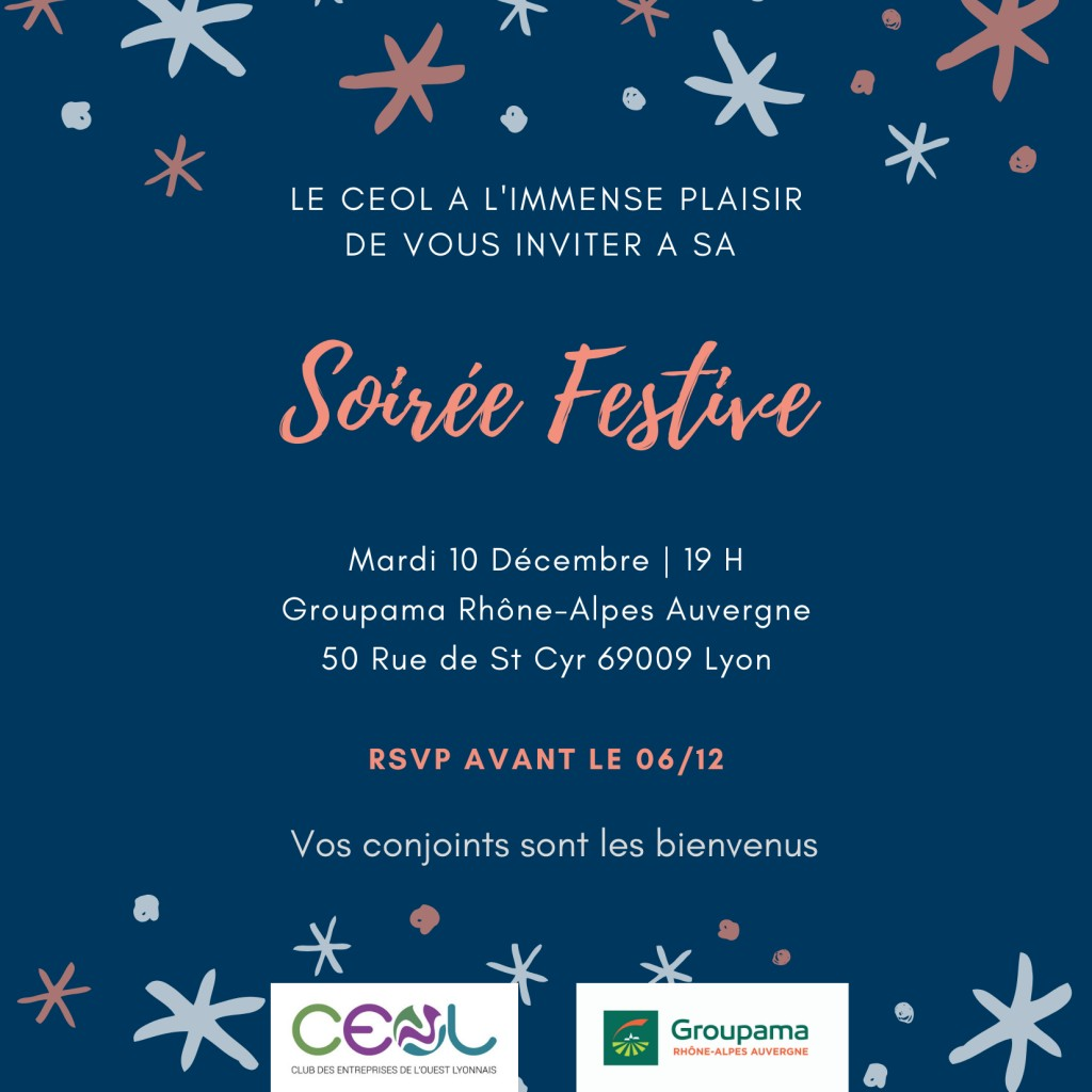 soiree festive dec 2019