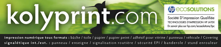 Kolyprint : l'impression grand format tous supports