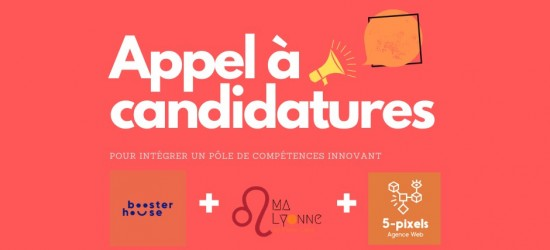 APPEL A CANDIDATURES !